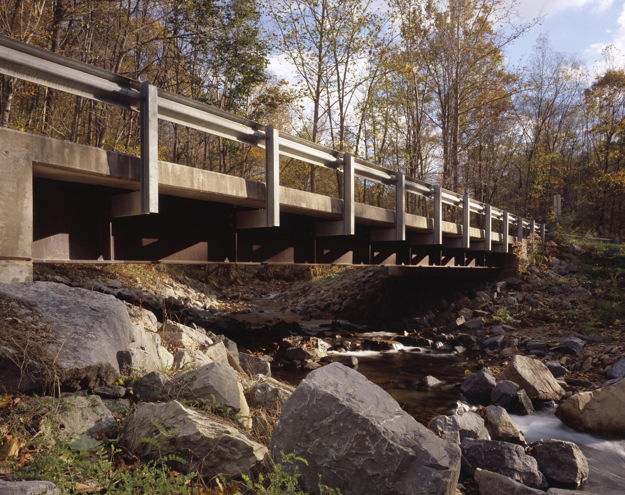 Weathering Steel Bridge