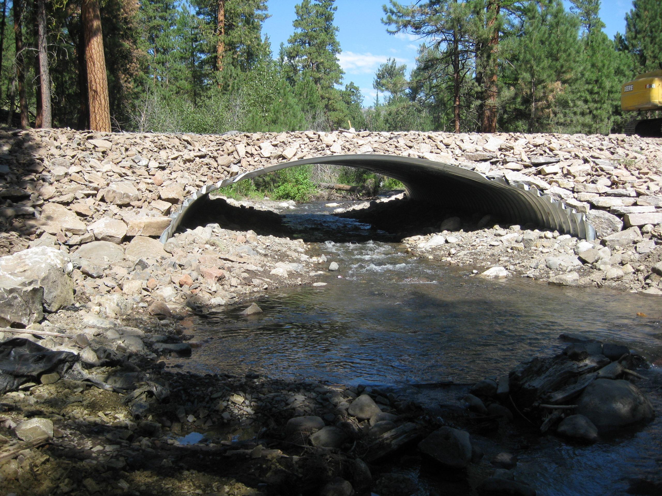 Buried Steel Bridge