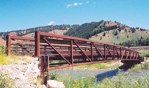 Steel Pedestrian Bridge
