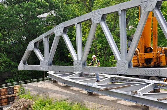 Prefabricated Truss Bridge