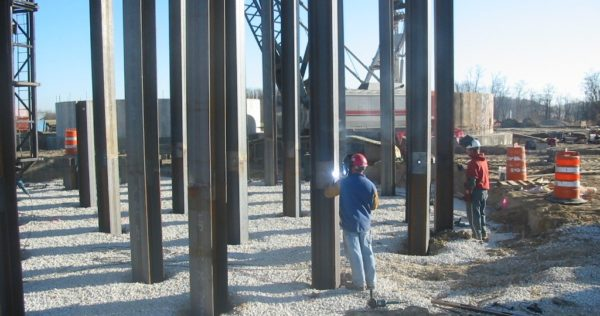 Driven Steel Pile