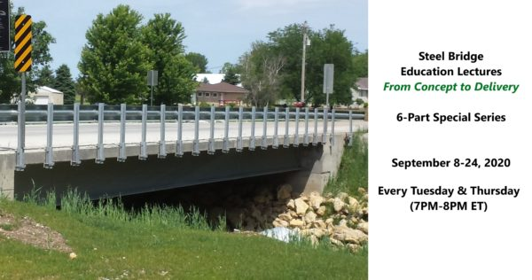 Steel Bridge Education Lectures: From Concept to Delivery