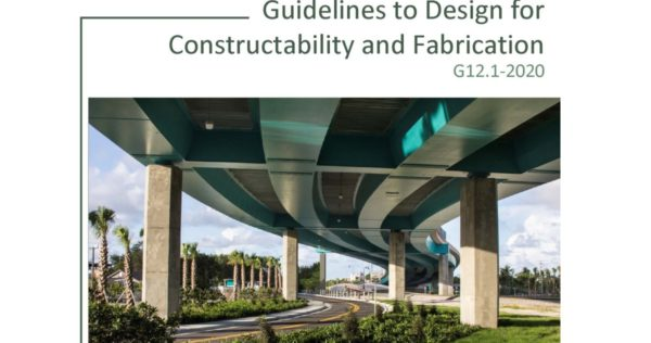 G12.1-2020 GUIDELINES TO DESIGN FOR CONSTRUCTABILITY AND FABRICATION