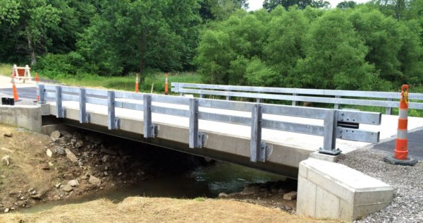 Boggs Road Bridge Steel