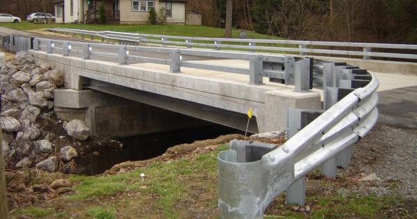 Steel Bridge Guardrail
